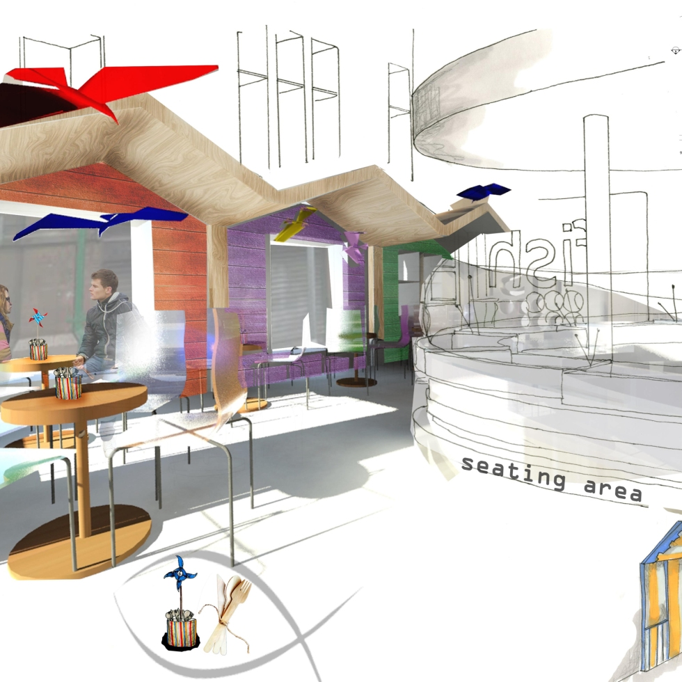 Rachel Firth Portland Project Year Long Paid Industry Placement With D4r Design For Retail